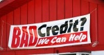 """Image of a banner """"bad credit? we can help"""""""