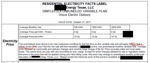 About Residencial Electricity Rates