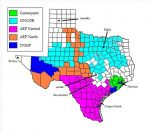 Utilities By Areas in Texas