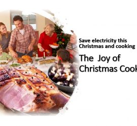 Save electricity this Christmas and cooking