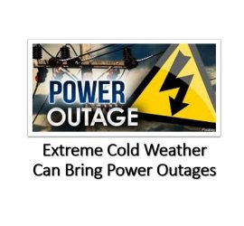 Extreme Cold Weather Can Bring Power Outages