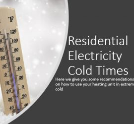 Residential Electricity Cold Times