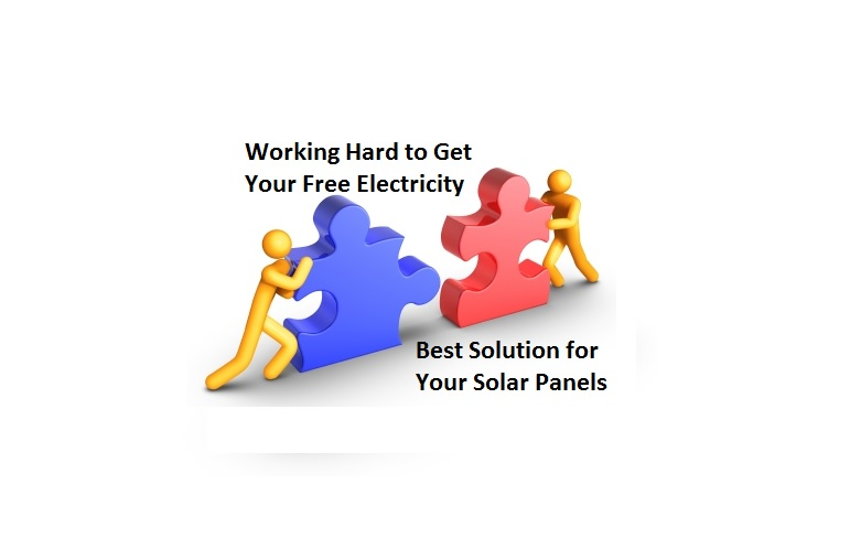 Working Hard to Get Your Free Electricity