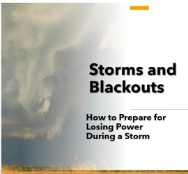 How to Prepare for Losing Power in a Storm