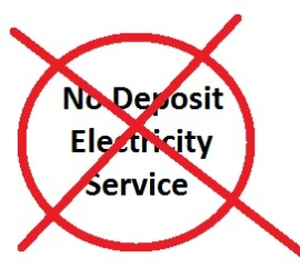 Home Electricity No Deposit