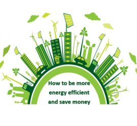 How to be more energy efficient and save money