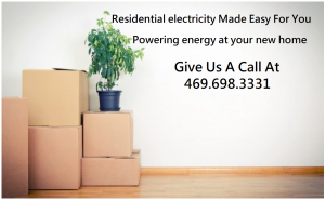 Residential Electricity set up for your new home