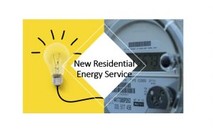 New residential energy service