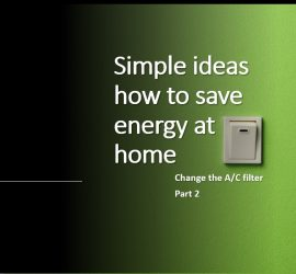 Simple ideas how to save energy at home