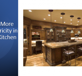 Save more electricity in the kitchen