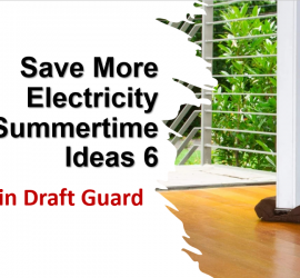 Save More Electricity Summertime Ideas 6