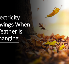 Electricity Savings When Weather Is Changing