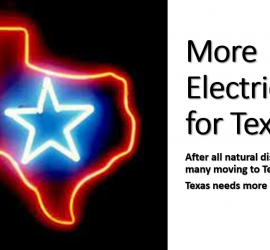 More Electricity for Texas